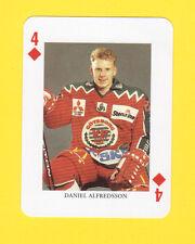 Daniel Alfredsson Ottawa Senators Swedish Hockey Playing Card