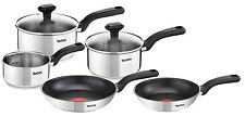 Tefal Comfort Max Stainless Steel Frying Pan Set - 5-Piece 5-Piece Set