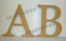 GEORGIA LETTERS IN MDF (180mm x 18mm thick)/WOODEN CRAFT SHAPE/BLANK DECORATION
