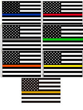 Wholesale Lot of USA Thin Line Blue Red Green Orange Yellow Gray Gold 3x5 Poly