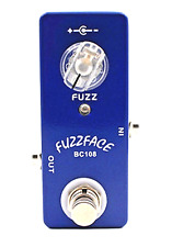 More details for mosky fuzzface guitar effect pedal micro guitar pedal true bypass