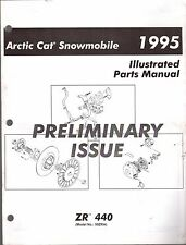 1995 ARCTIC CAT SNOWMOBILE ZR 440 PARTS MANUAL (916)