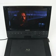 Sony Portable Blu-Ray DVD Player BDP-SX910 Japan Ver. Tested Work *Display Flaw*