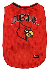 Pet First NCAA Louisville Cardinals Football Dog Jersey, Large