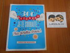 300 STICKERS JE TE SOUHAITE PLEIN DE BELLES CHOSES ! (Scrapbooking DECO) FIRST