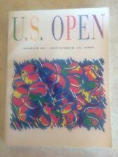 U.S. Open Tennis Magazine Souvenir Guide Program Booklet 1992