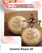 2 x Bare Minerals Multi Tasking Spf 20 Concealer Summer Bisque Size 2 G x 2