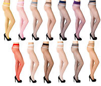 Sexy Ladies Fishnet Tights by Romartex - 14 Various Colours , Size S,M,L,XL