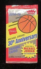 RARE 2018-19 Hanes Fleer PACK Michael Jordan MJ Cards AUTO HOLO Foil NBA Hoops