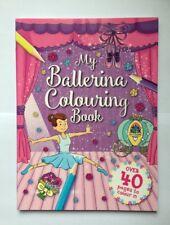 Childrens Colouring Book My Ballerina
