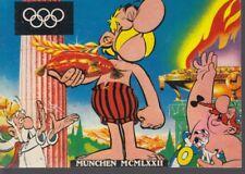 Asterix Postkartenserie ca. 1972 - Komplette Serie (= 7 Karten)