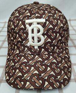 Burberry Baseball Hat Outdoor Cap Adjustable Street Look Men Women Cap