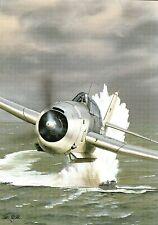 Postcard Aircraft  TBF-1 Avenger - modern card / large