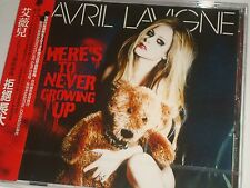 Avril Lavigne HERE'S TO NEVER GROWING UP Made in Taiwan Single #900