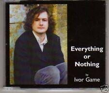 (F217) Ivor Game, Everything Or Nothing - DJ CD