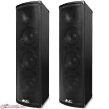 Pair of Alto Professional Trouper | 200W Bluetooth Speakers PA System with Mixer
