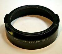 Minolta A 35-105mm f3.5-4.5 AF Lens Hood Shade  auto focus zoom