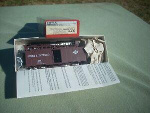 HO IMWX Heritage 40' Box Car GORRE & DAPHETID #8409 Model # Issue #1