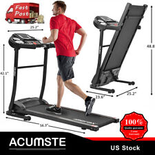 USA Fitness Gym Running Indoor yoga Machine Folding Electric Treadmill man women