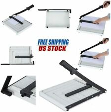 """A4 To B7 Metal Paper Cutter Base Guillotine Page Trimmer Blade Scrap Booking 12"""""""