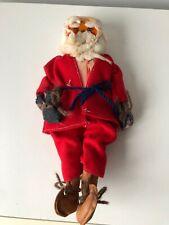 vintage home made Father Christmas Santa figure