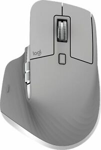 Logitech - MX Master 3 Wireless Laser Mouse - Mid Gray