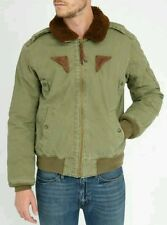 NEW RARE ITALIAN A-2 POLO RALPH-LAUREN TYPE B-15 BOMBER  FLIGHT FUR JACKET