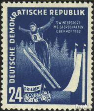 DDR 299 postfris 1952 Winter Sports Championships de DDR