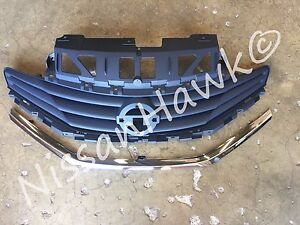 NEW OEM NISSAN VERSA NOTE 2015-2017 FACTORY GRILLE ASSEMBLY - SR MODELS ONLY