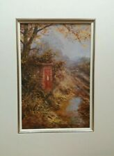 David Dipnall, autumn lines (Post Box) Signed Limited Edition Landscape Print