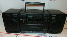 SONY CFD-510 CD player Cassette Tape Radio Boom Box Portable Stereo
