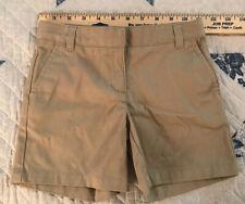 Girls 6 Izod Approved Schoolwear Kaki Shorts