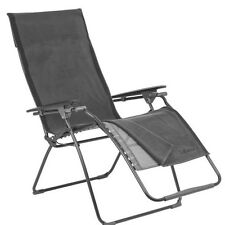 LAFUMA Fitted Towel for Standard Size Recliners color Anthracite