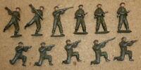 Vintage Britains Metal Soldiers WW1