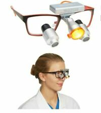 Wireless CORDLESS LED DENTAL / MEDICAL BUTTERFLY HEADLIGHT for loupes - light