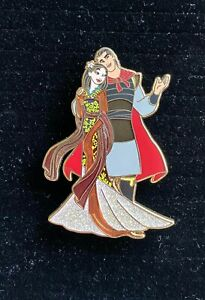 Disney Designer Couples LE 350 Limited Edition Disney Pin - Mulan & Li Shang