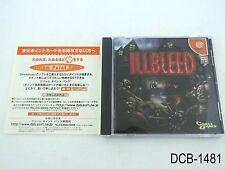 Illbleed Dreamcast Japanese Import JP Japan Sega DC US Seller B/Good