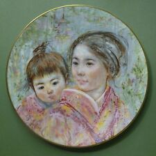 Royal Doulton Plate - Sayuri And Child 1974