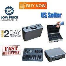 18 inch Aluminium BRIEFCASE Storage Safe Camera Equipment Carrying Hand Tools