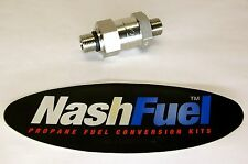 3600 PSI CNG CHECK VALVE FUEL FAST NOZZLE SWAGELOK ONE WAY NATURAL GAS 3600PSI