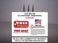 SE2169 * LEE EASY X EXPANDER * 308 Win and OTHER 30 CAL LEE DIE SETS * 3-PACK
