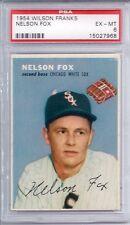 1954 Wilson Franks Nellie Fox HOF EX MT PSA 6