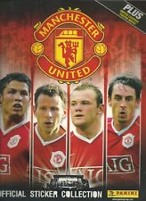 PANINI'S MANCHESTER UNITED 2006 OFFICIAL STICKER ALBUM - UNUSED WITH POSTER