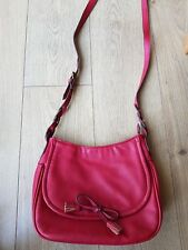Laura ashley Bag. Over The Shoulder.  Red