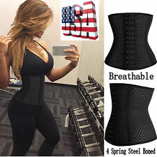Corset Waist Trainer Training Shaper Body Shapewear Underbust Cincher Tummy Belt