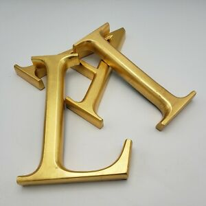 Restoration Hardware Gold Gilt Wood Letters