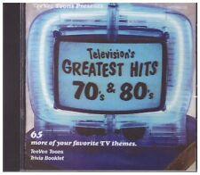 Television's Greatest Hits, Vol. 3  (70's & 80's)  Various Artists CD
