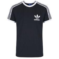 adidas Originals California Shirt Herren Weiß Schwarz Marineblau Rot S M L XL
