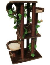 Kitty Condo Cat Tree House Scratching Post Trees Condos Furniture Mansions New