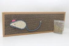 Gatto, gattino Graffiare Board Con Erba Gatta & Corda Mouse Emblam giocattolo Maglie taglienti e piallanti Erba Gatta